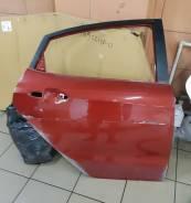 Дверь оригинальная задняя правая Kia Rio III [2011-2017] (красная)