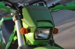 Щиток фары Kawasaki KLX250 KLX300 зеленый