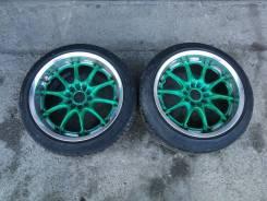Пара дисков Volk Racing GT-N R17 с резиной
