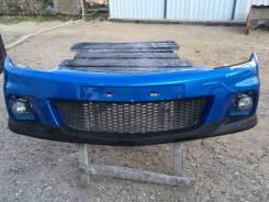 Накладка на бампер (нижняя часть бампера) Opel Astra Opc