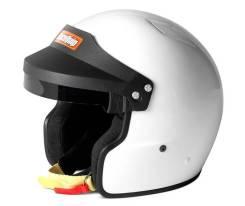 Шлем RaceQuip белый открытый размер M