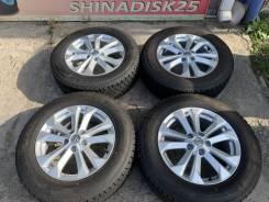 "225/65R17 95% Зима на литье Nissan X Trail Оригинал. 7.0x17"" 5x114.30 ET45"
