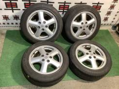"Комплект колес Toyota Mark2 R16 tourerv разноширокие #8712. 6.5/7.5x16"" 5x114.30 ET50/55"