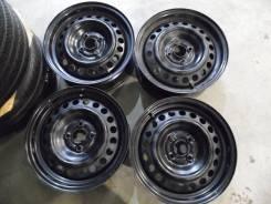 """Оригинальные штампованные диски Honda из Японии R15 4*100 №2675. 6.0x15"""", 4x100.00, ЦО 56,1мм."""