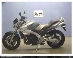 Suzuki GSR 600. 600куб. см., исправен, птс, без пробега