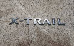 Эмблема багажника Nissan X-Trail II (T31)