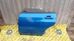 Дверь задняя левая синяя Subaru Impreza WRX GGA GGB 2000-2007г