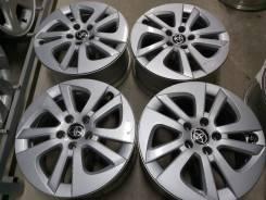 "Оригинальные литые диски Тойота на 15"" (5*100) 6.5j et+40 цо54.1мм"