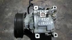 Компрессор кондиционера. Toyota Corolla, CDE120, CE120, NDE120, NZE120, ZRE120, ZZE120, ZZE120L
