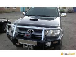 Toyota Hilux 2005 - 2011 SIM Дефлектор капота (Мухобойка)