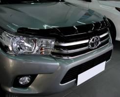 Toyota Hilux 2015 - SIM Дефлектор капота (Мухобойка)