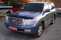 Toyota Land Cruiser 2007 - 2015 SIM Дефлектор капота (Мухобойка)