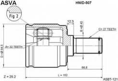ШРУС подвески внутренний Asva HNID507