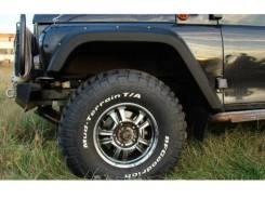 Расширители колёсных арок УАЗ Хантер под нерезанные арки колёс Fenders [ТКУ03]