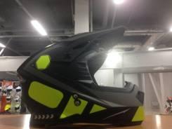 Шлем (кроссовый) Ataki MX801 Strike (Hi-Vis желтый/черный) XL