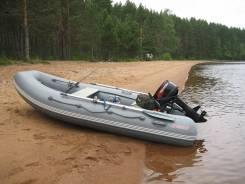 Продам комплект лодка Кайман 330 + мотор Tohatsu 18
