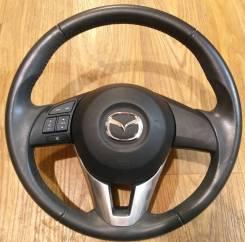 Руль Mazda CX5 кожа без airbag