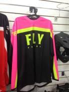 Футболка для мотокросса FLY Racing F-16 (2020) розовая L