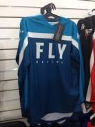 Футболка для мотокросса FLY Racing F-16 (2020) синяя 2X