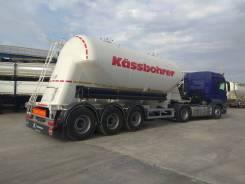Kassbohrer. Цементовоз алюминиевый SSL 31м3, 30 000кг.