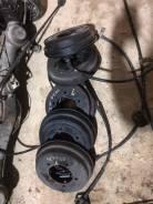 Механизм стояночного тормоза(барабан, ступица) задний левый