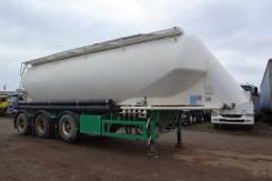 Feldbinder. Полуприцеп цементовоз алюминиевый с НДС, 3 700кг.