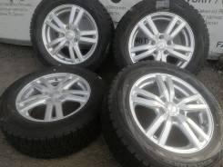 "Литые диски Dufact на шинах Dunlop 215/60R16. 6.5x16"" 5x114.30 ET48"