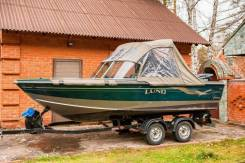 Катер Lund Fisherman 1700 c мотором Suzuki DF 140A