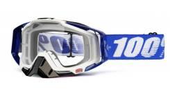 Очки 100% Racecraft Cobalt Blue / Clear Lens (50100-002-02)