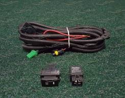 Проводка для ПТФ на Nissan /Ниссан/ 2шт.