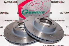 Диски тормозные перфорированные G-brake GFR-02916 (Передние)