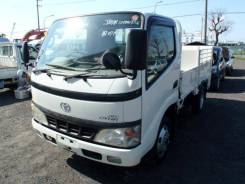 Toyota Dyna. Бортовой грузовик с аппарелью 2003 год, 4 000куб. см., 3 000кг., 4x2. Под заказ