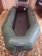 Продам лодку ПВХ КЛАЙ-270 с мотором Ханкай (3,5 л. с. )