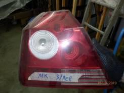 Задний фонарь. Geely MK