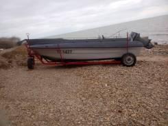 Байда(лодка) с мотором Стрингер 510