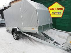 Прицеп для снегохода ССТ-09К Супер 316х145 с тентом