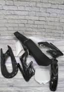 Комплект пластика на китайский мотоцикл ( кросс ) 2Т 49сс. Отправка .
