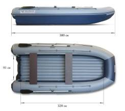 Лодка Флагман DK 380 AIR