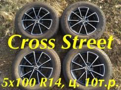 Красивое литьё Cross Street 5x100 R14