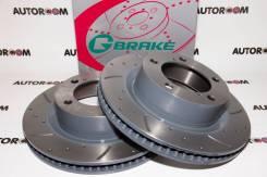 Диски тормозные перфорированные G-brake GFR-21046 (Передние)