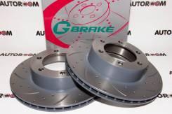 Диски тормозные перфорированные G-brake GFR-02339 (Передние)