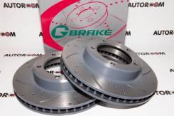 Диски тормозные перфорированные G-brake GFR-20759 (Передние)