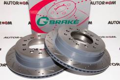 Диски тормозные перфорированные G-brake GFR-02858 (Задние)