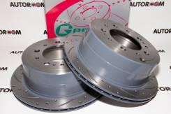 Диски тормозные перфорированные G-brake GFR-02452 (Задние)