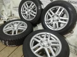 """Литые диски Ravrion на шинах Dunlop 175/65R14. 5.5x14"""" 4x100.00 ET45"""