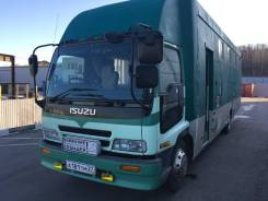 Isuzu Forward. Коневоз , 8 200 куб. см., 10 850 кг., 4x2