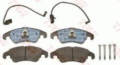 Колодки тормозные передние AUDI A4 (8K, B8)/A5 (8T)/A6 (4G, C7)/Q5 (8RB)