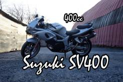 Suzuki SV 400. 400куб. см., исправен, птс, без пробега