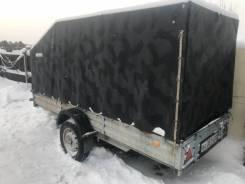 Прицеп к легковому авто МЗСА 817715 для перевозки снегохода.