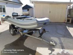 Продам лодку РИБ Аэро 350 с мотором